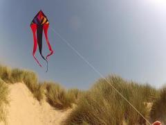 One line kite